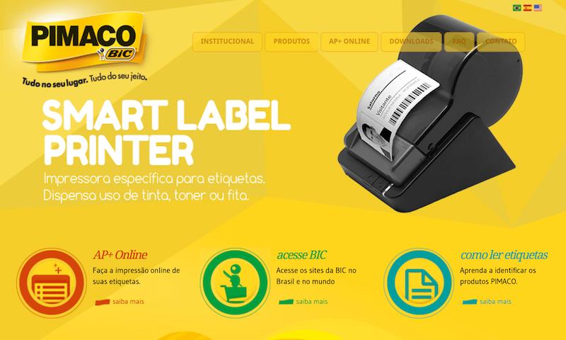 novo site pimaco bic - Novo site da Pimaco tem exclusivo serviço de impressão online de etiquetas