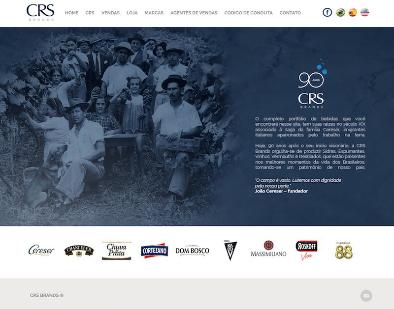 site cereser crsbrands - Cereser agora é CRS Brands