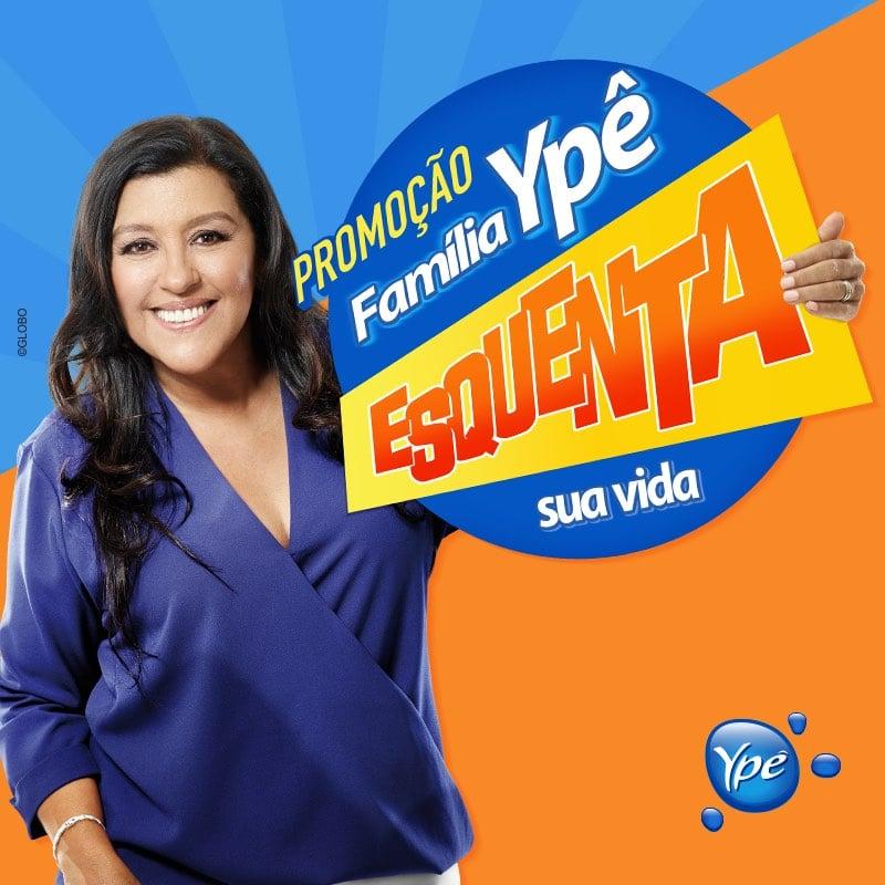 """ype esquenta - A presença digital da promoção """"Família Ypê Esquenta sua vida"""""""
