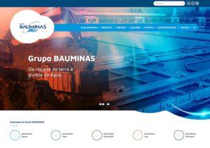 site bauminas 300x211 - Você sabe quem cuida da água que você bebe? Conheça o novo site do Grupo Bauminas