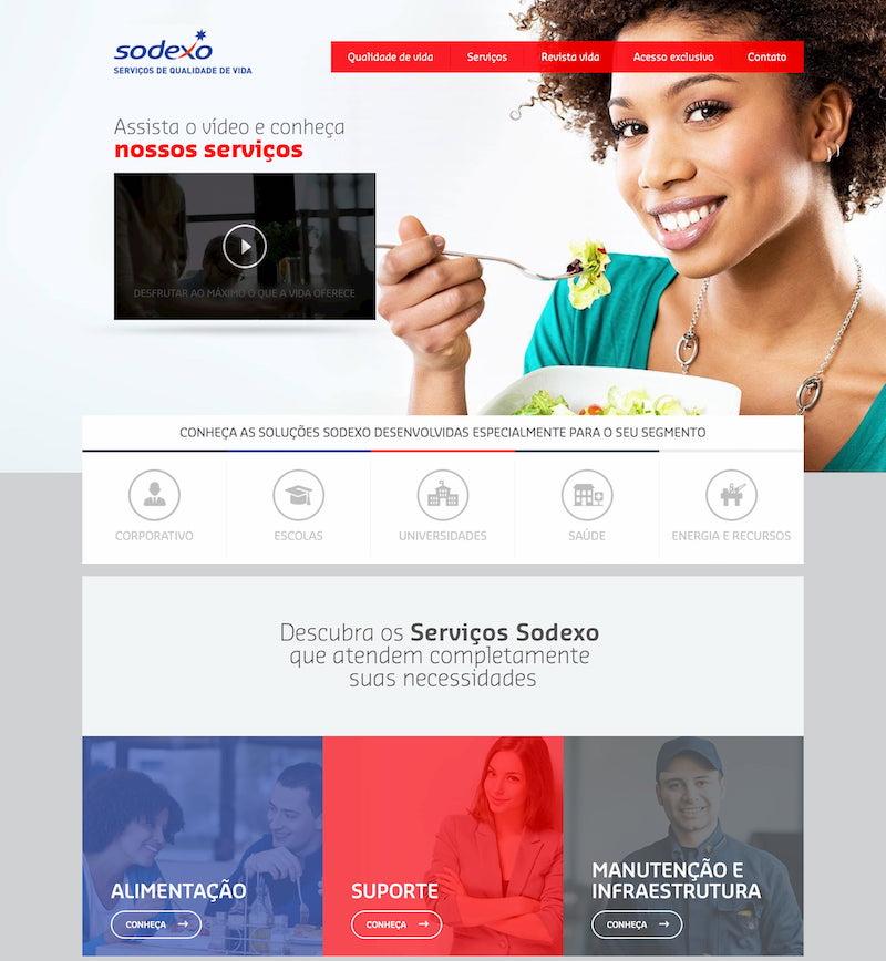 site sodexoservicos - Novo Cliente: Sodexo Serviços