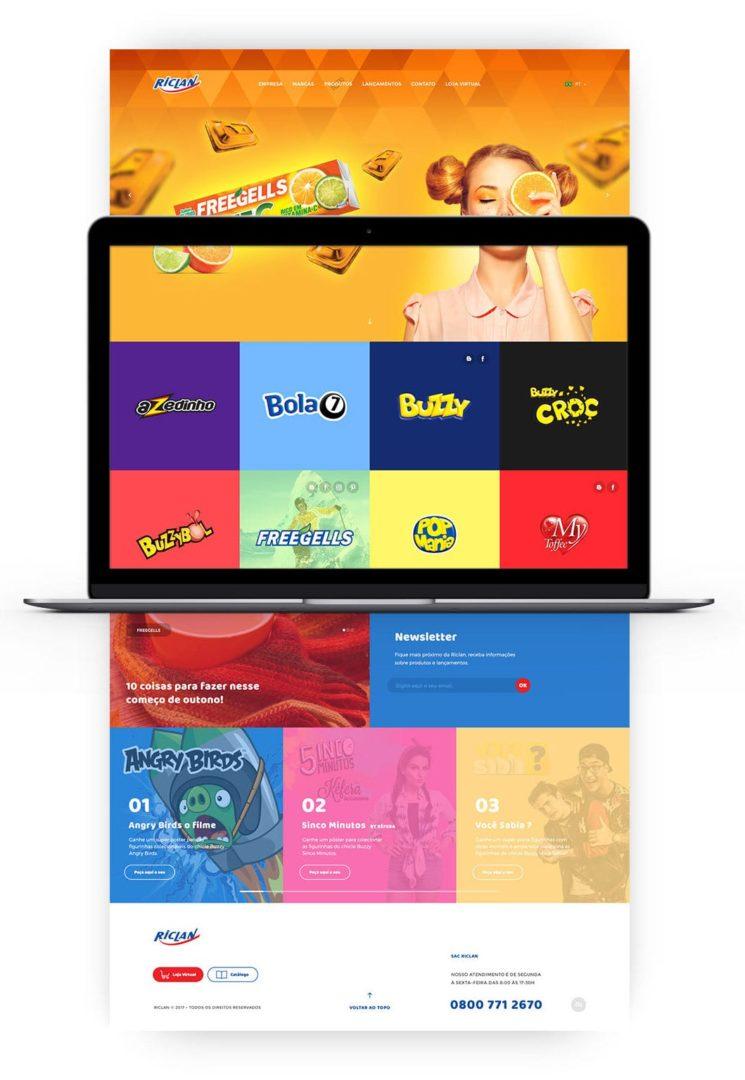 d8419356330847.59a9aec2aab2e 1 - Ainda mais colorido e divertido - Conheça o novo site da Riclan!