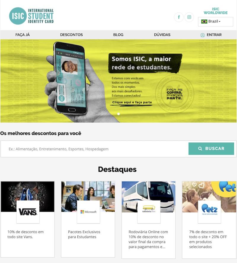 site carteira do estudante - Conheça o case da Carteira do Estudante