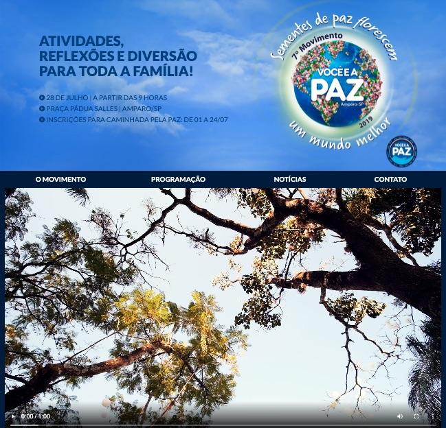 """site ype voceeapaz - Ypê promove o movimento """"Você e a Paz"""""""