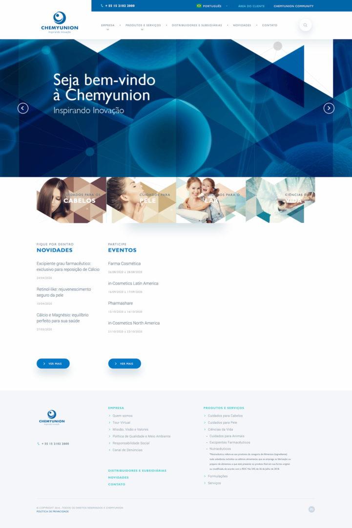 chemyunion.com .br  - Sites