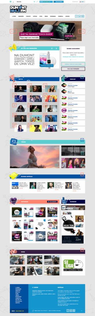 dumontfm.com .br  - Sites