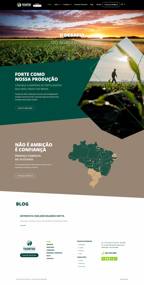fertilizantestocantins.com .br  - Sites