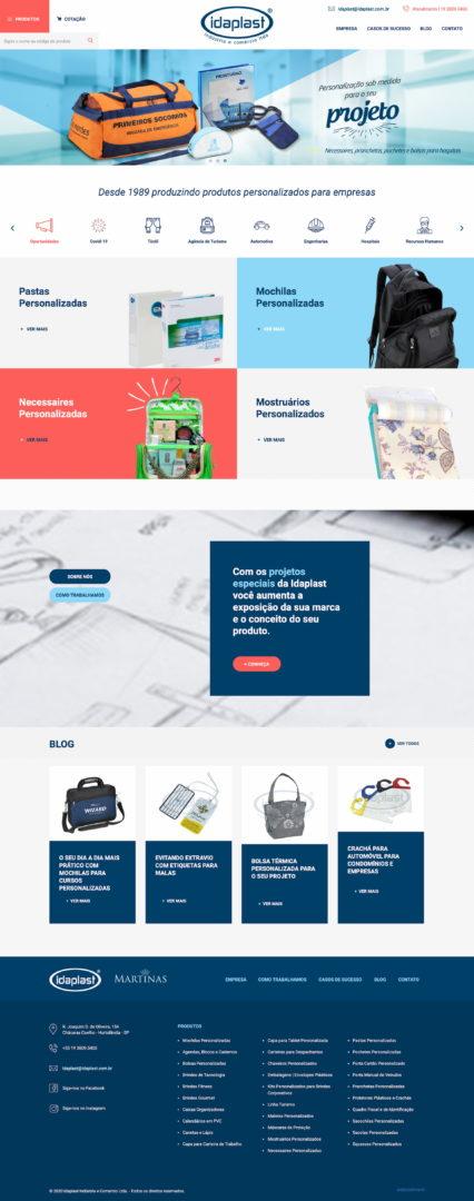 idaplast.com .br  - Sites