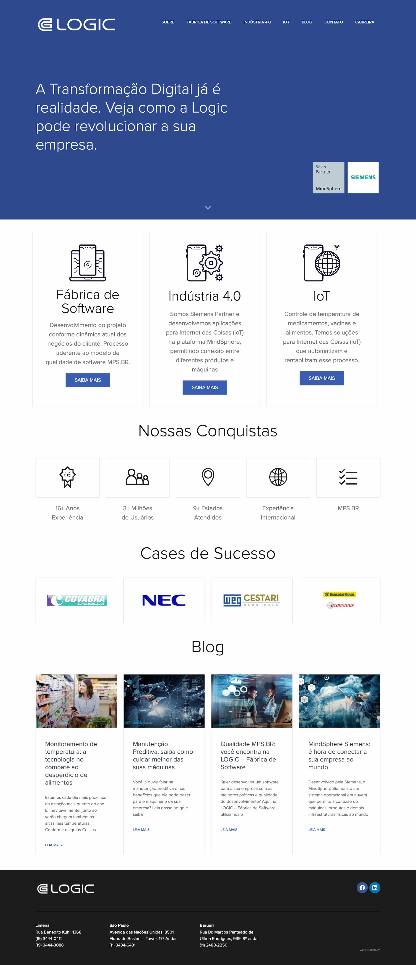 logicsp.com .br  - Sites