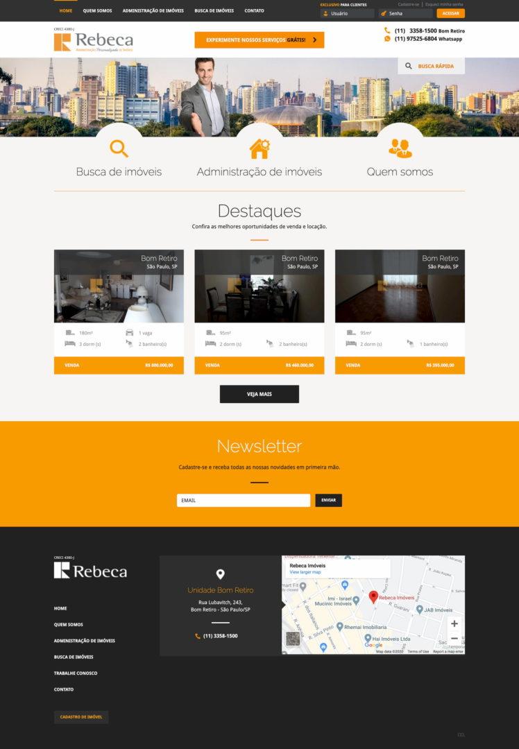 rebeca.com .br  - Sites