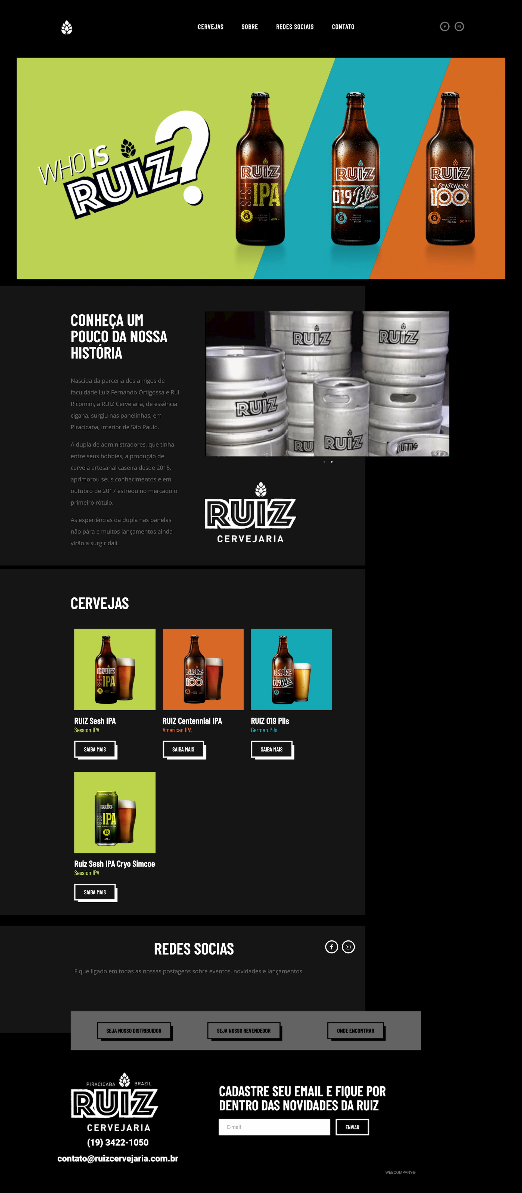 ruizcervejaria.com .br  - Sites