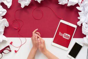 mais visualizações no YouTube